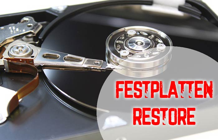Festplatten-Restore